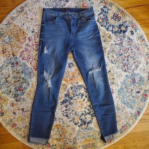[Sts Blue] Ellie Distressed Step Hem jeans 30